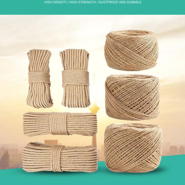 Venda quente 100% natural de sisal/corda de cânhamo corda de manila marinhos