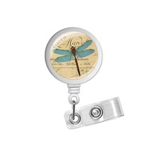Dragonfly Designer Intrekbare Id Badge Houder Naam Badge <span class=keywords><strong>Clips</strong></span>