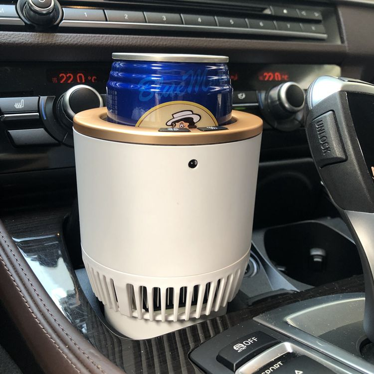 Cool Gifts Electric Bottle Warmer Holder 12v Car Mini Cooler and Warmer Auto