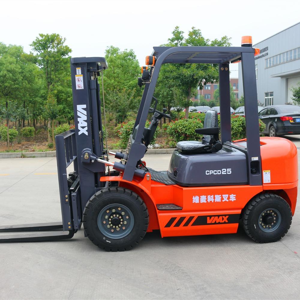 CHARIOT ÉLÉVATEUR 2.5ton diesel chariot élévateur avec transmission automatique et 2500kg capacité chariots élévateurs à vendre prix