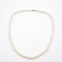 2020 newest dainty statement beaded natural pearl necklaces for ladies ornaments