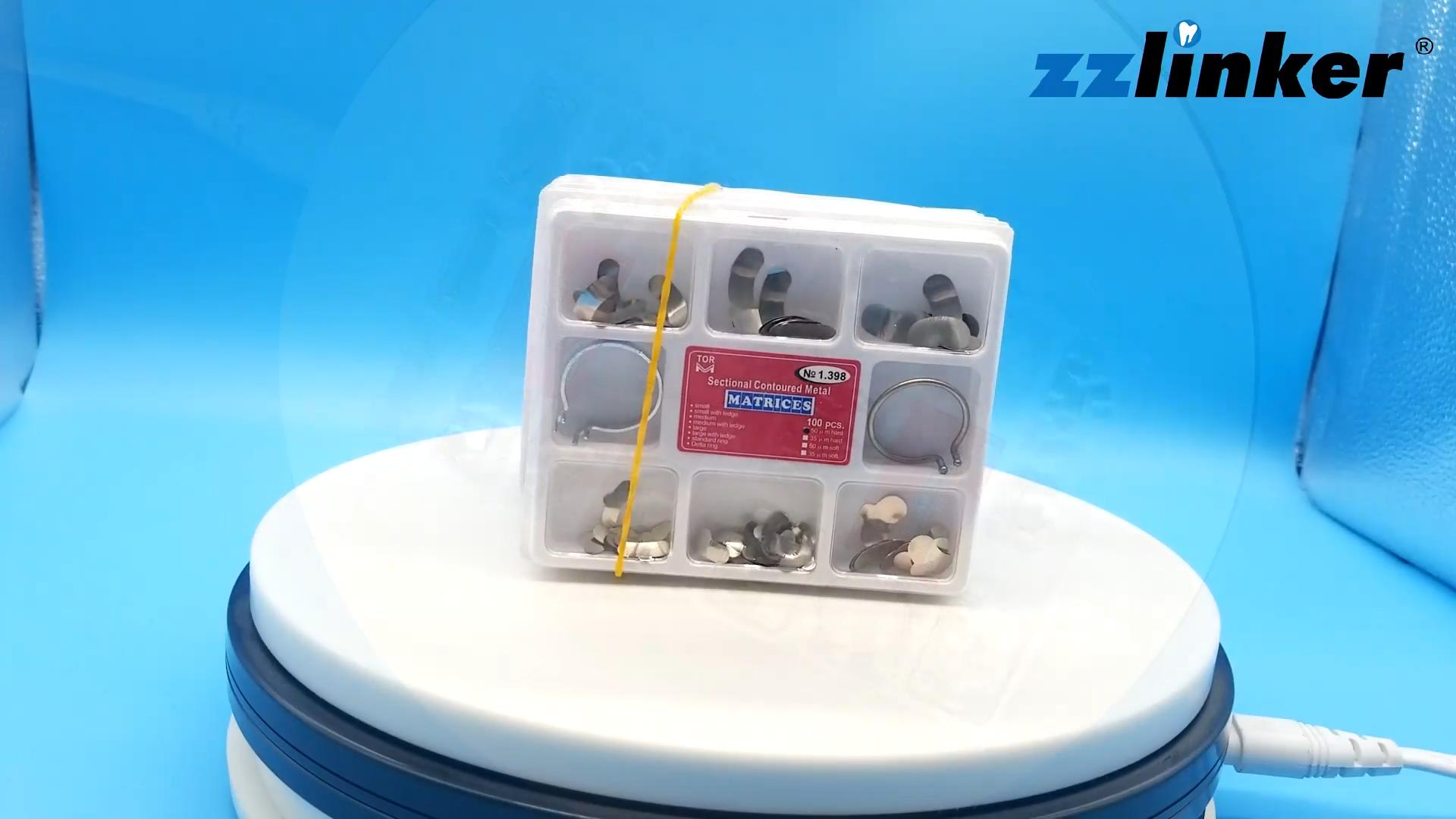 Aço inoxidável Dental Marfim Matrix Band 100 pçs/caixa