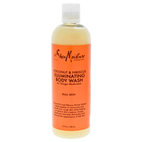 Coconut and Hibiscus Shea Butter Wash Brightening and Toning by Shea Moisture for Unisex - 13 oz Body
