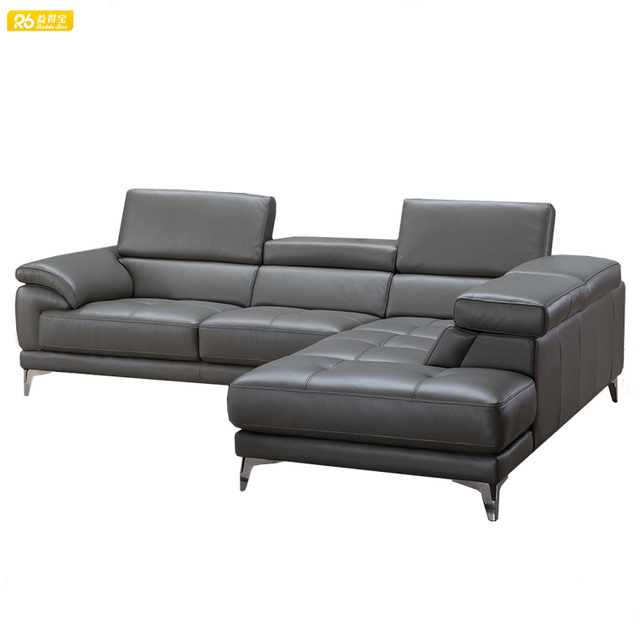 Decoro Chaise Leather Sofa From China