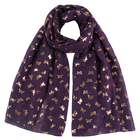 Style With Scarf Plain Dyed New Design Scarf Hot Bronzing New Style With Butterfly Camphor Tree Muslim Print Scarf