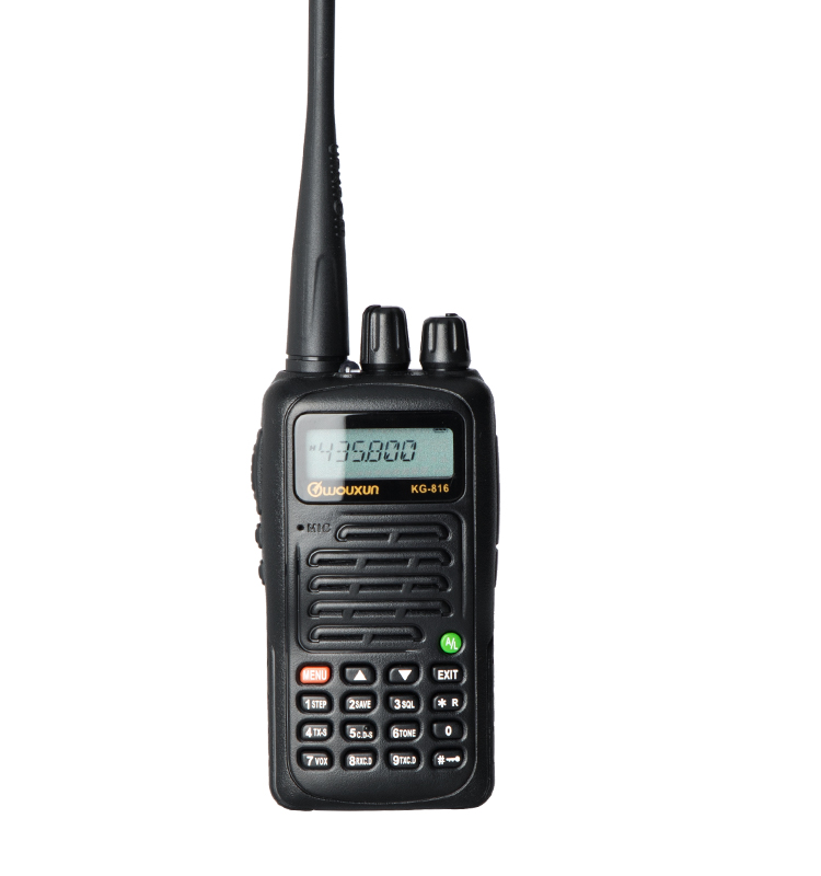WOUXUN KG-816 Original DTMP Walkie Talkie mit 7,4 V Batterie FM Transceiver Two Way Radio