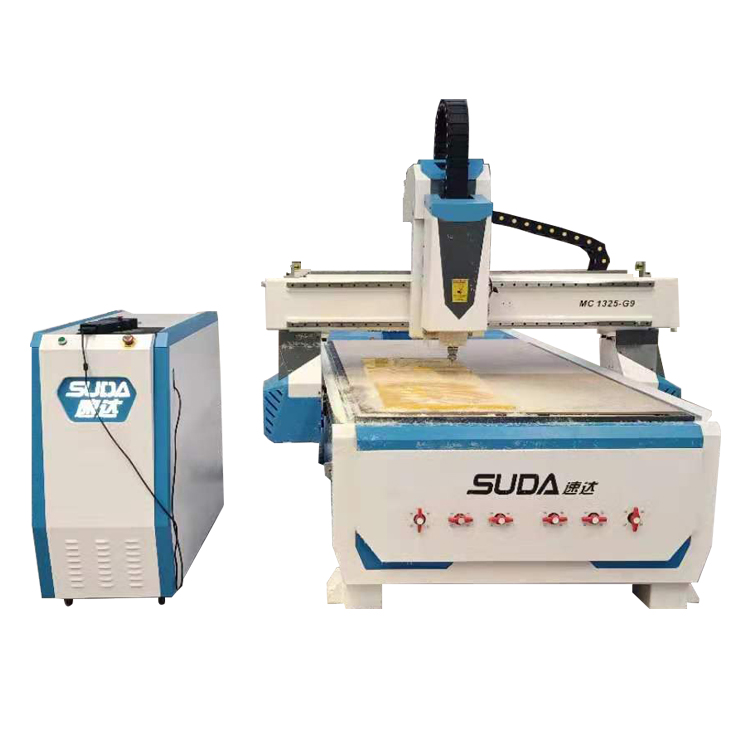SUDA Professional ATC และสูญญากาศ 1325 2040 เครื่อง CNC Router CE ISO approval
