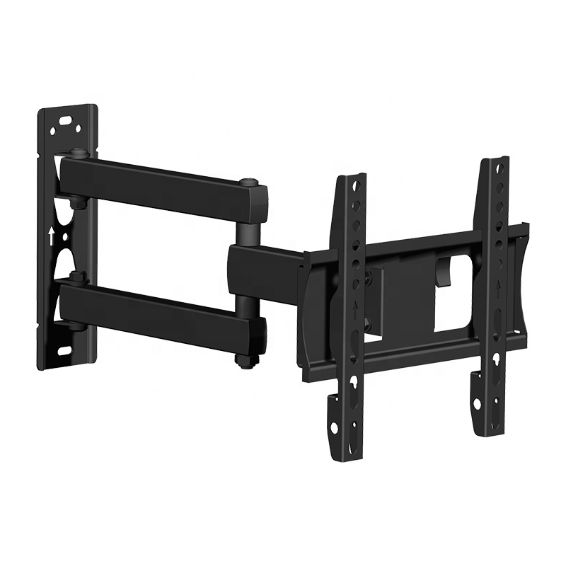 """Full Motion TV Wall Mount Swivel Tilt Articulating Arm with Cable Management for 17""""-42"""" LCD LED OLED Screen TV"""