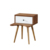 Cheap Retro furniture Bedroom small wooden bedstand nightstands with drawer
