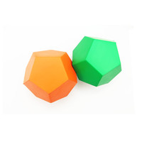 2020 Hot Sale Custom Printing Dodecahedron exercise dice anti Stress Ball for fitness and educational