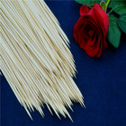 Dried Plant Support Big Vietnam Skewer Price Round Bbq Wooden Bamboo Custom Stick Manufacturer