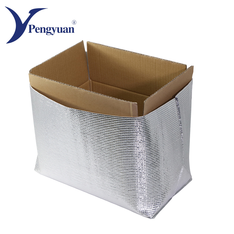 Food grade einweg aluminium isolierte kühltasche
