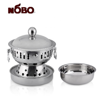 Round mini chafing dish stainless steel buffet stove