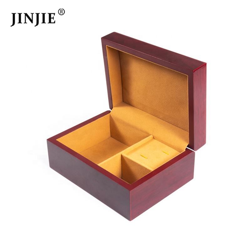Новое поступление деревянные Запонки галстук и карман подарочная коробка