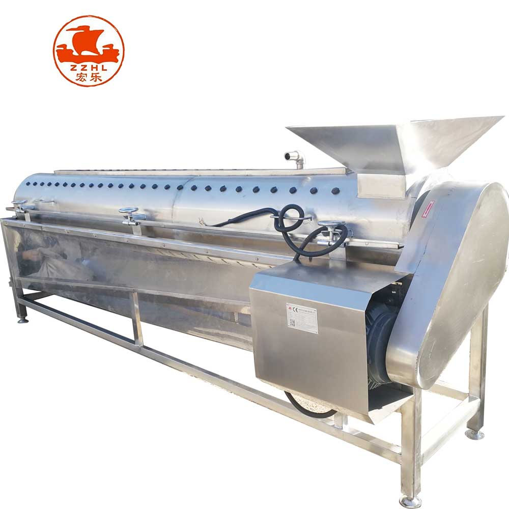 Automatic Stainless Steel <strong>Chicken</strong> Feet Skin Peeling Machine <strong>Chicken</strong> Feet Peeling <strong>Processing</strong> Machine