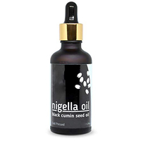 Black Seed Oil - 100% Cold-Pressed Nigella Sativa Oil/Kalonji Oil with Omega 3 6 9