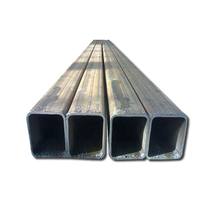 Tianjin Manufacturer Welded Black MS Carbon Square Hollow Section Steel Pipe And Tubes Price