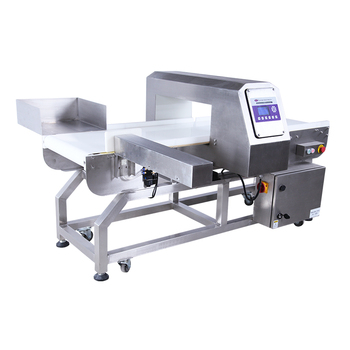 High sensitivity auto setting parameters metal detector for foods industry