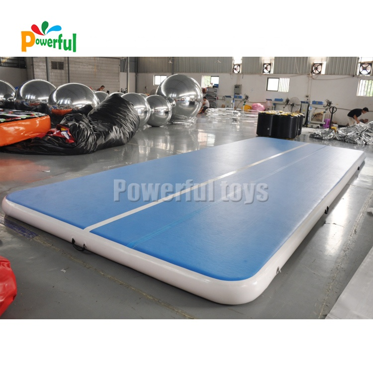 Gymnastics equipment training tumbling mat inflatable air track mat factory