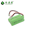 Best fresh 2.4v 800mAh aaa battery pack With Conector