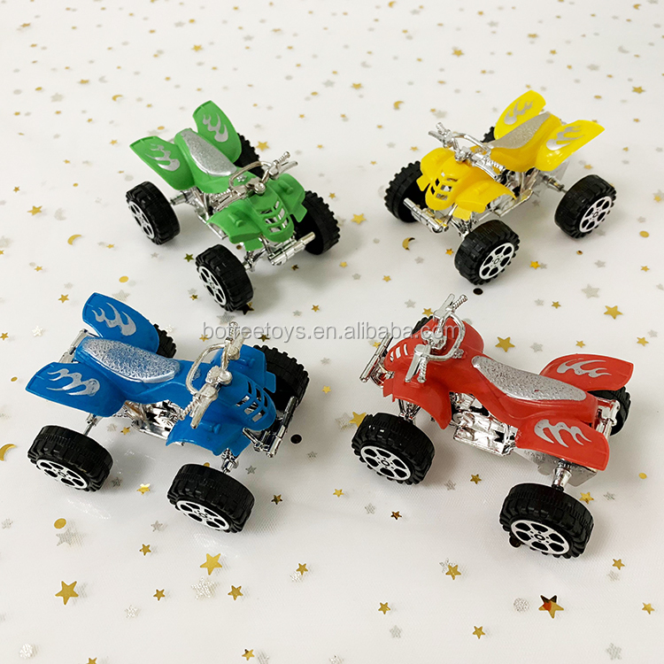 Pull Back Beach Motorcycle Plastic Promotional Toys