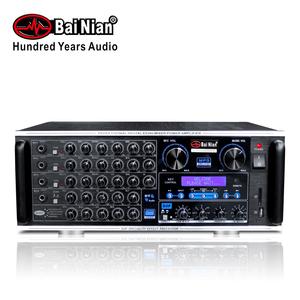 Big power 250W karaoke mp3 amplifier, digital karaoke mixing power amplifier