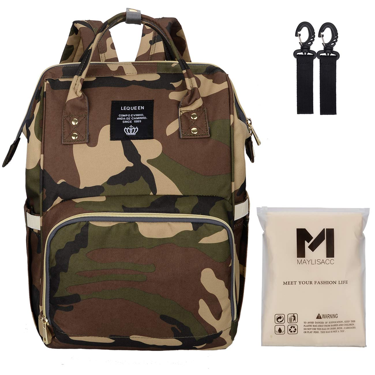 Diaper Bag Mens Women Camouflage
