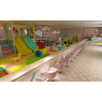 Candy Princess Dream Theme kids indoor playground soft play area