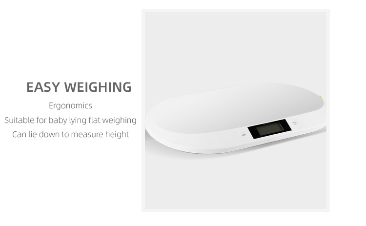 20KG Baby Scale With Tape Measure For Baby Measurement