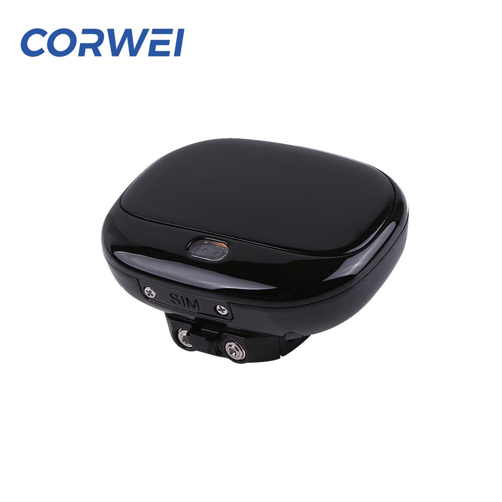 Corwei V43 LTE 4G gps bicicleta anti jammer 3g 트래커 uhr fr kinder 680 mah