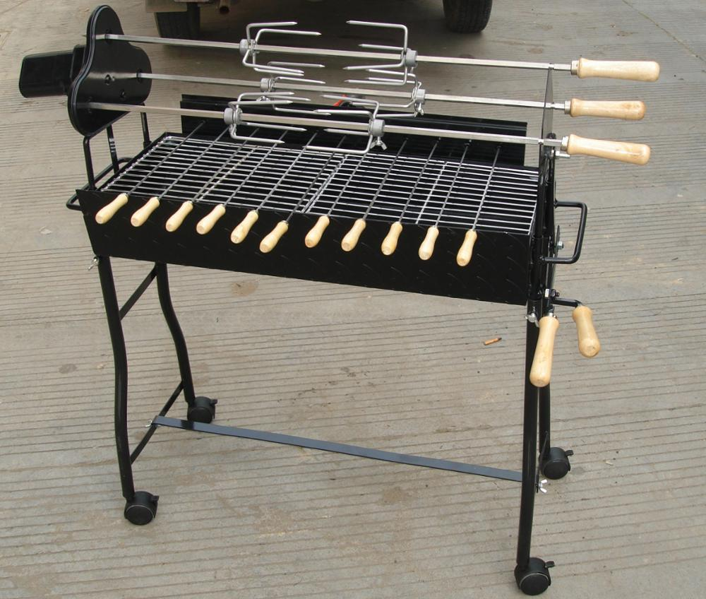 GREEK CYPRIOT CHARCOAL Outdoor Rotisserie Barbecue BBQ Grill