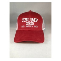 Low price 3D Embroidery Patriot Fashion Custom Trump 2020 Mesh
