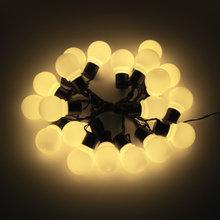 Солнечная энергия настенный светильник 2,5 м 5 м 10/20 светодиодов лампы гирлянда наружный светильник ing водонепроницаемый балкон патио украше...(Китай)