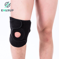 Enerup 9mm orthopedic athletic plastic elbow & knee compression sleeve pads support strap brace