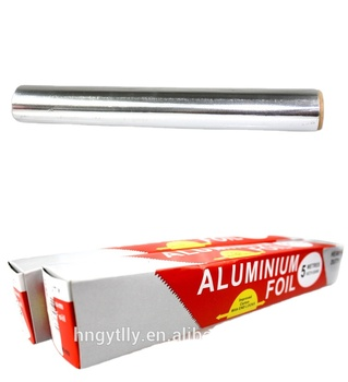 Cheap china imports Soft Household food wrapping aluminium foil paper prire