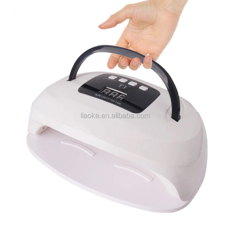 2019 96W SUN T1 UV LED lamp Both Hands Nail Lamp For Nail Dryer Gel Polish