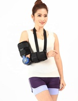 Hinged ROM Elbow Brace with Strap Post OP Elbow Brace Stabilizer Splint Arm Orthosis Injury Recovery Support