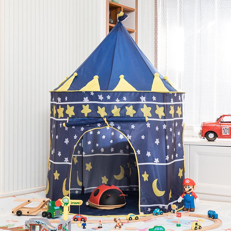 Kinderen Prinses Tent Spel Huis Meisjes Super Mongoolse Speelgoed Kasteel Baby Vouwen Indoor Tent