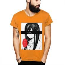 Отличная футболка из аниме Iapanese Gone, эстетическая футболка Ego, мужская летняя качественная классическая футболка с круглым вырезом, Camiseta(Китай)