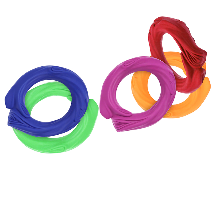 Tough chewing toys Dog Rings for Pet Supplies Circle Bite Training