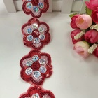 2020 New arrival wholesale price factory custom embroidery fabrics lace,embroidery lace trim
