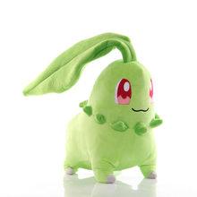Pikachu Jigglypuff Mewtwo Mew Aerodactyl Psyduck плюшевая кукла Chikorita милый эльф коготь машина кукла подарки для детей(Китай)