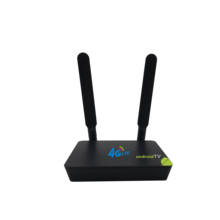 LTE Android OTT TV set top Box com 16 2 4G-LTE Router Wi-fi ram GB Rom GB