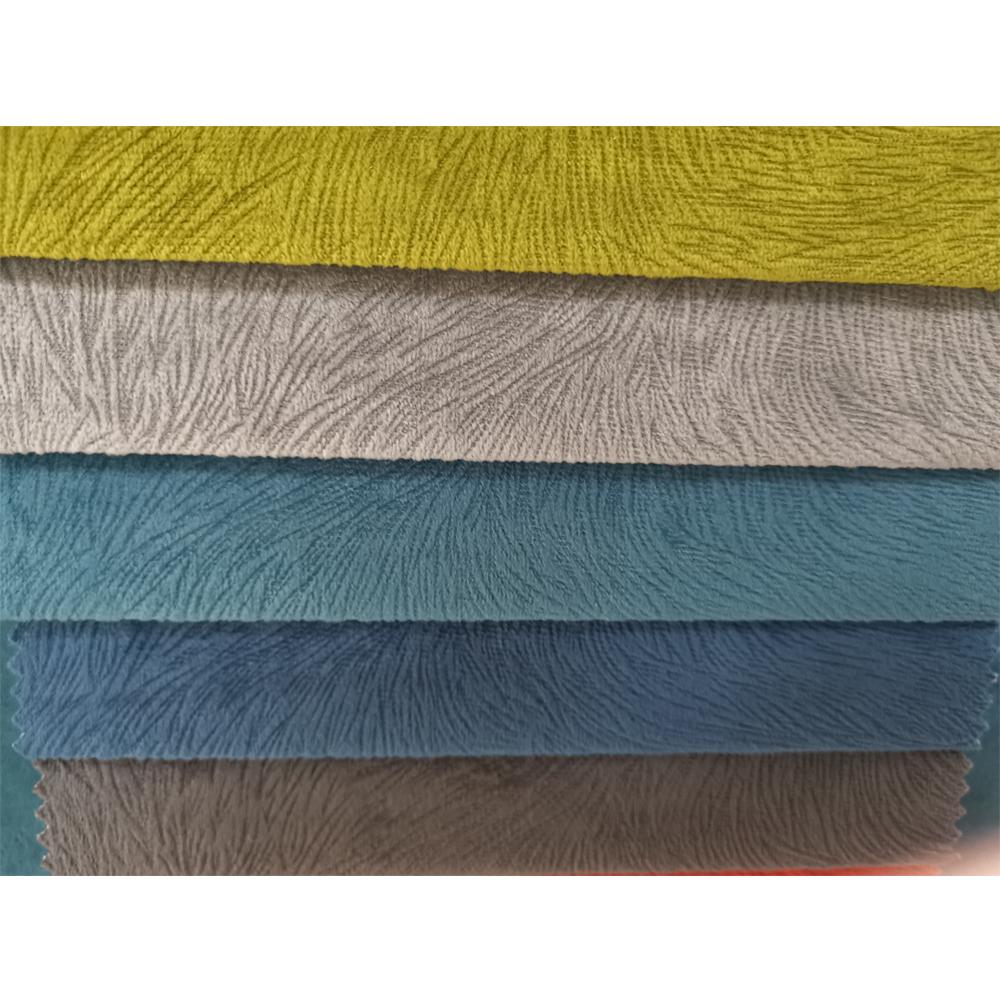 China supplier Hot design 100% Polyester Burnout Velvet Fabric, Upholstery for Sofa