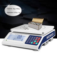 3kg-40kg RS232 electronic digital industrial counting scale