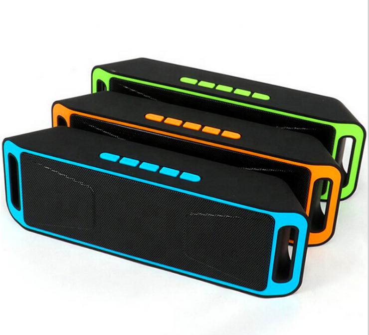 SC208 스피커 야외 방수 휴대용 무선 서브 우퍼 스피커