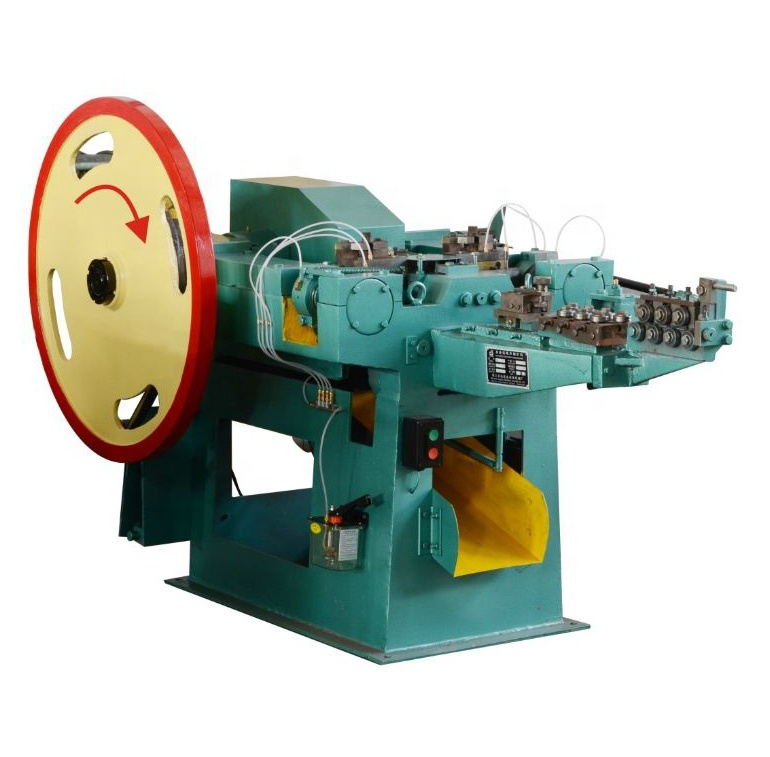 China low price automatic steel iron screw roofing concrete common wire nail making machine