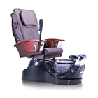 S836 Wholesale Best Salon Foot Medical Black Spa Pedicure Massage Chair No Plumbing For Sale