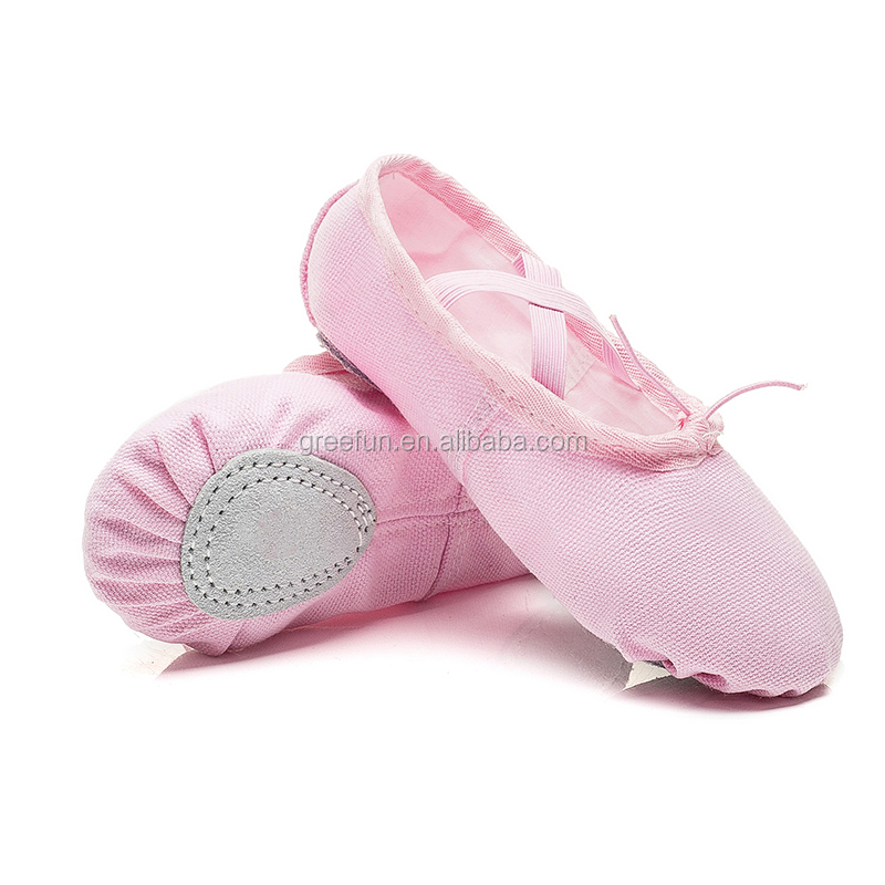 Autumn Ballet Flats Shoes Dance Shoes Latin Yoga Shoe Non Slip Split-Sole Practice Gymnastics Ballet Slippers Flats for Dancers
