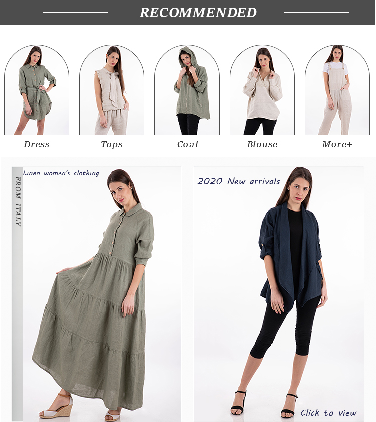 Summer online shopping latest casual dress ladies/lady button linen dress fashion for mature woman